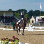 Abi Hutton - Senior Instructor and Rider  Talland School of Equitation