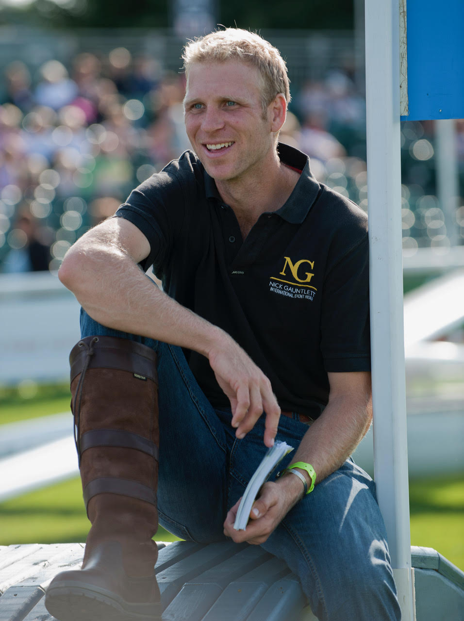 Nick Gauntlett - Land Rover Burghley Horse Trials 2010