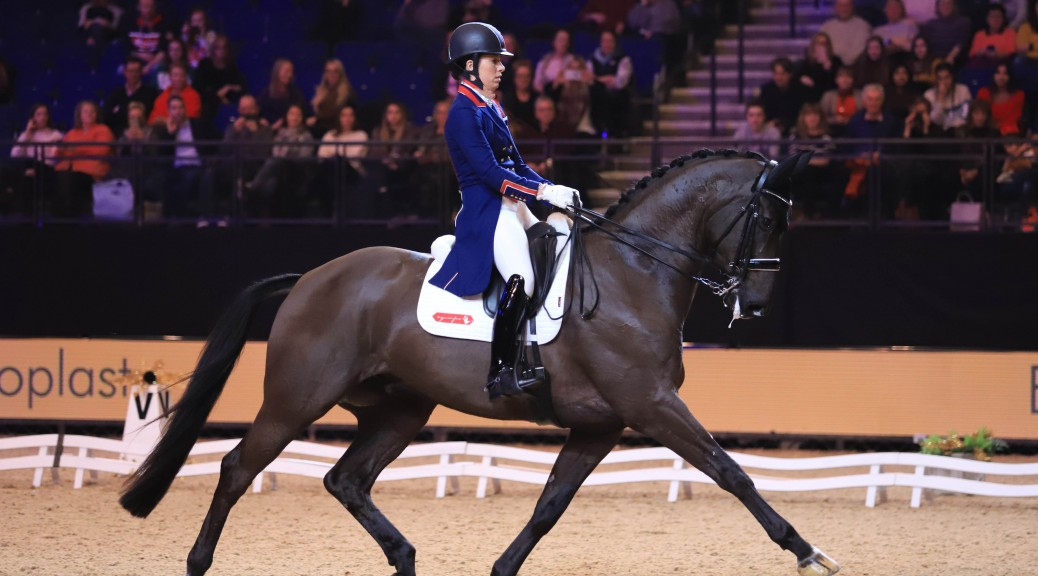 Liverpool International Horse Show - Dressage - Charlotte Dujardin